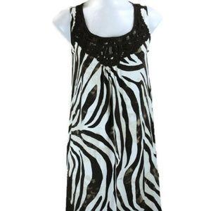 Jones New York Signature Animal Print Dress